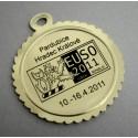štítek na medaili - tisk na folii