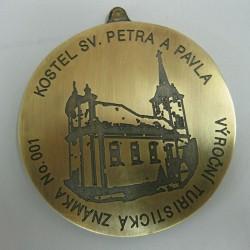 medaile - turistická známka