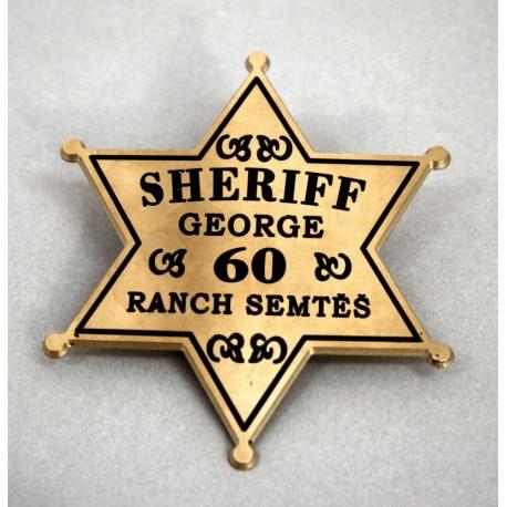 odznak - šerif