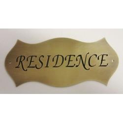 dveřní štítek REZIDENCE