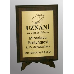 plaketa MOSAZ