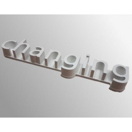 podklad pro 3D písmena